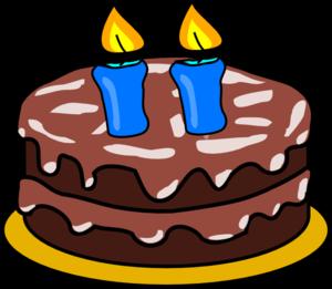second anniversary cake