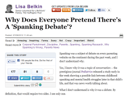 spanking article