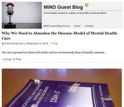 Anti-psychiatry at Scientific American