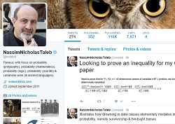Taleb on Twitter