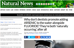 Anti-fluoridation stupidity.