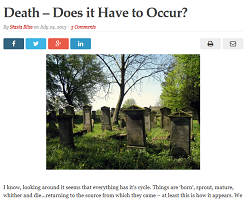 Bliss on ageing and death