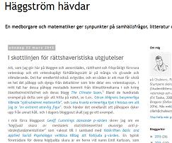 Häggström, round four