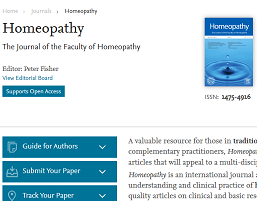 Homeopathy Journal