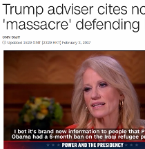 The alternative facts surge