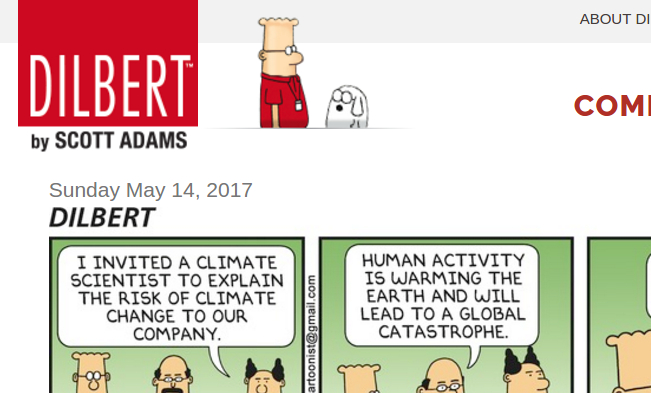 Dilbert and Climate Science